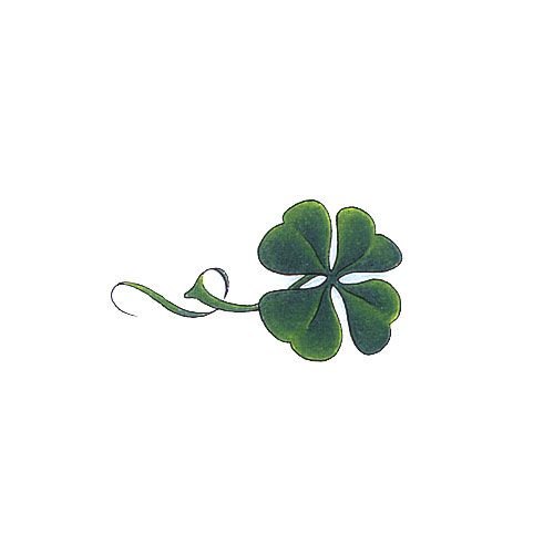 leaf clover tattoos design 500x500 pixel tattoos