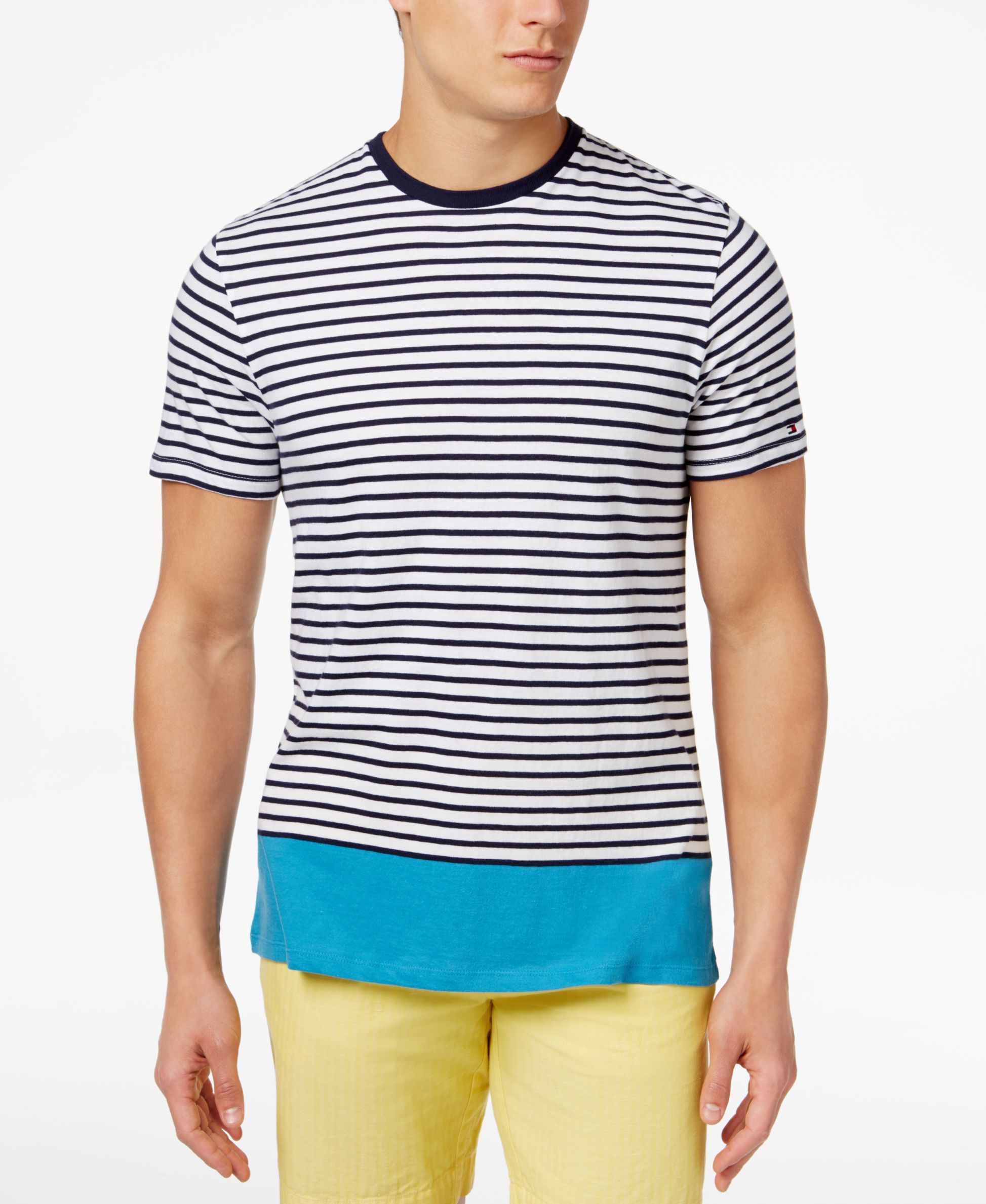 Tommy Hilfiger Men's Bryant Stripe T-Shirt