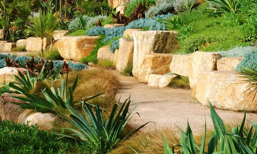Click to zoom -> | Rocks | Pinterest | Landscaping, Retaining walls ...