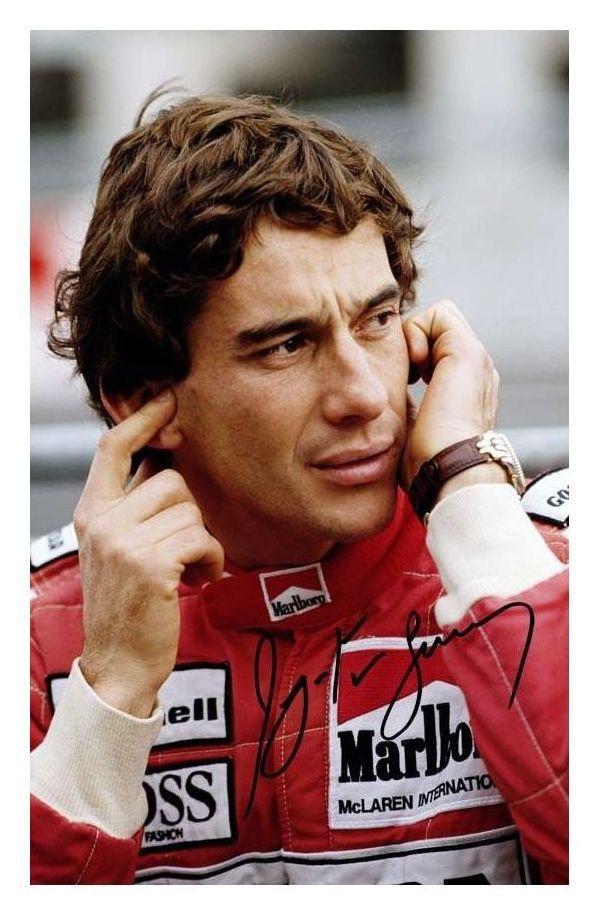 Ayrton Senna With Images Ayrton Senna Senna Ayrton