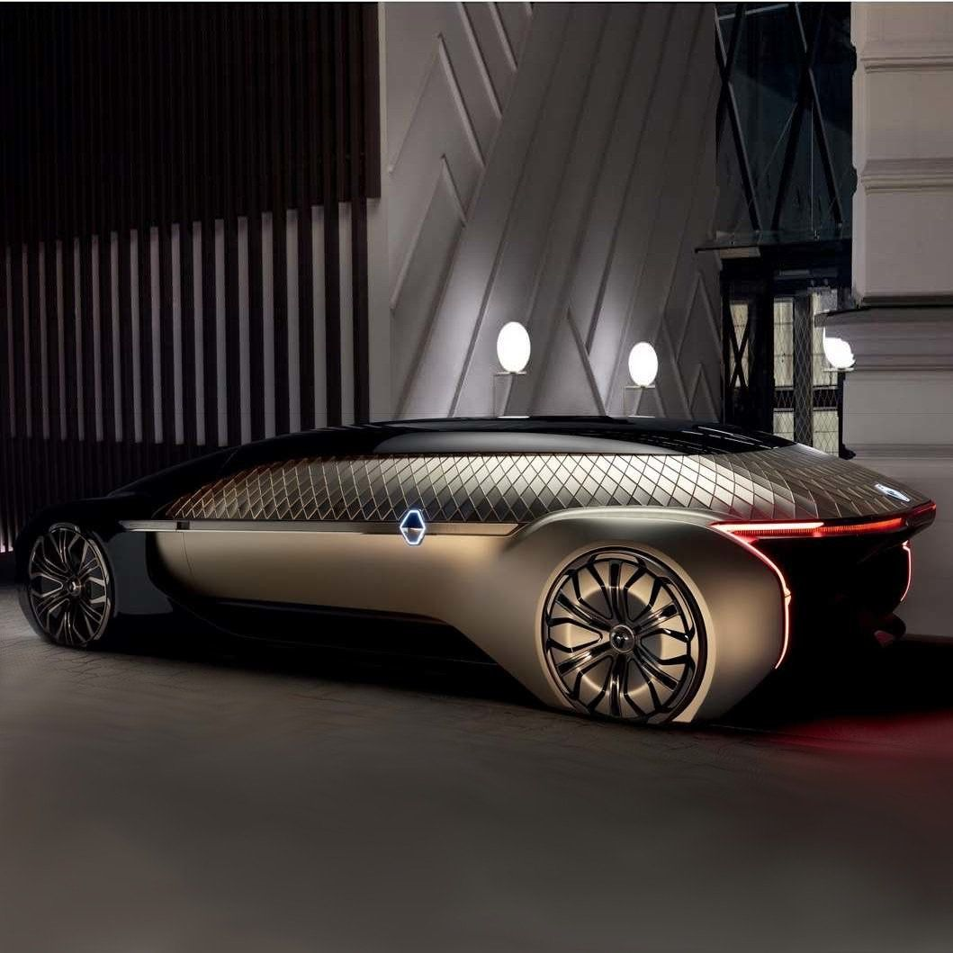 Renault Ez Ultimo Luxury Self Driving Limo In 2020 Self Driving Renault Concept Car Design