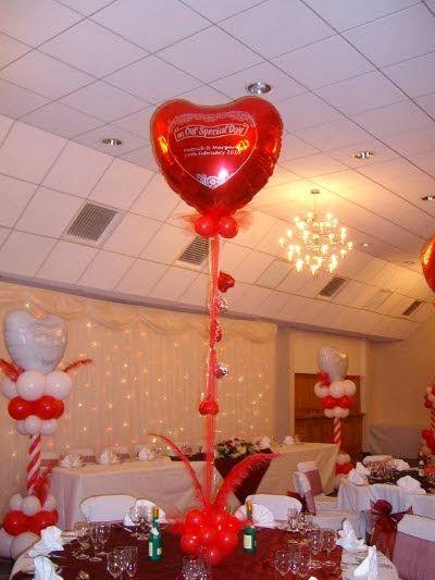 Imagenes para decorar camas y mesas romanticas en san for Decoracion san valentin pinterest