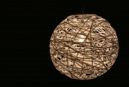 Fadenlampe selbst gemacht - DIY-Kit mit Anleitung