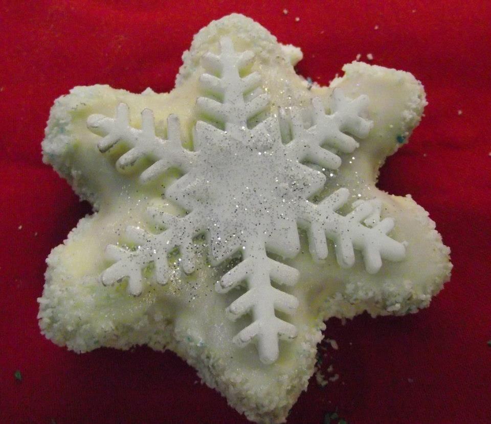 #Snowflake #Cookies