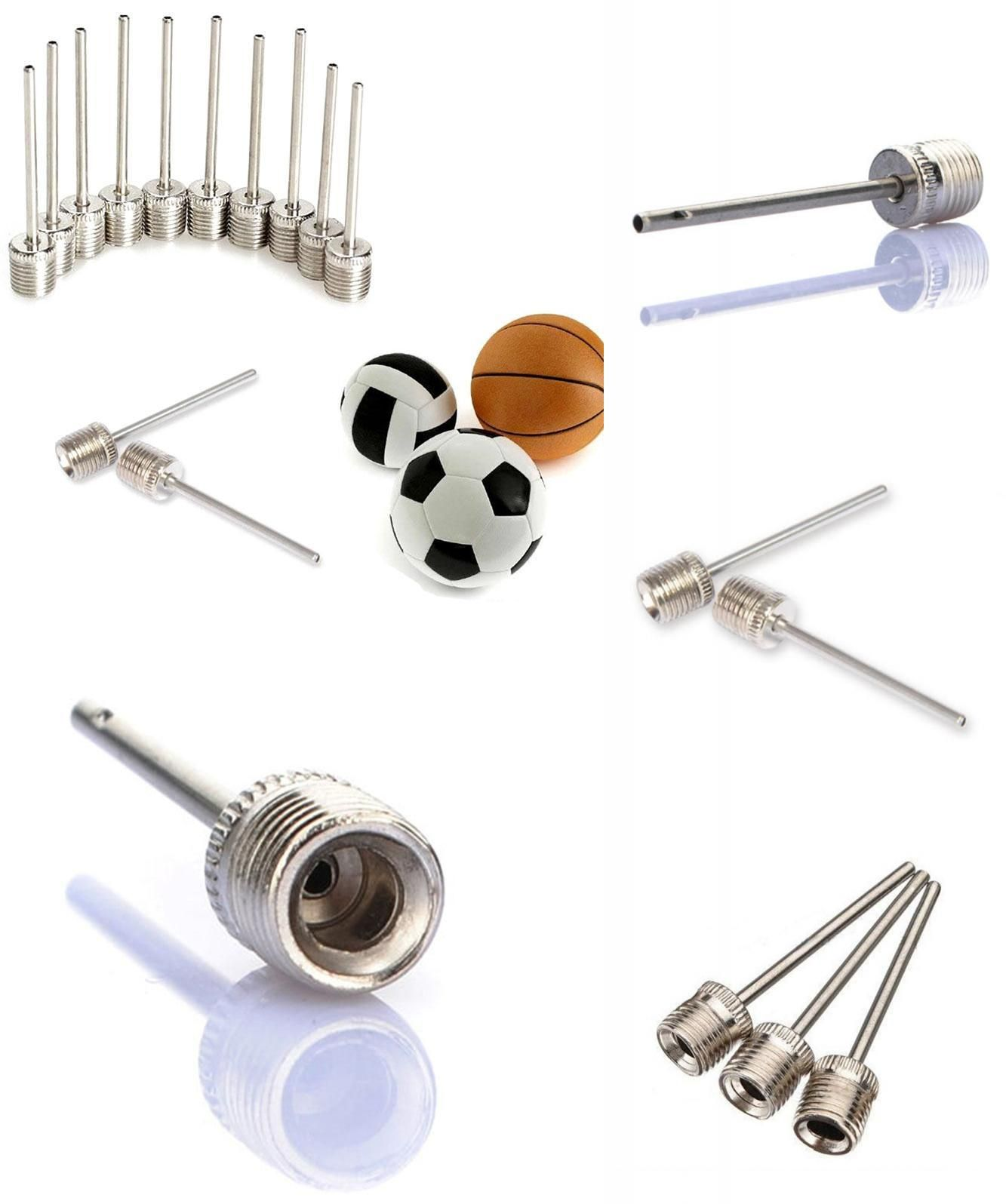 10 Pieces Football and Basketball Mudder Ball Pump Needle for Sports Balls