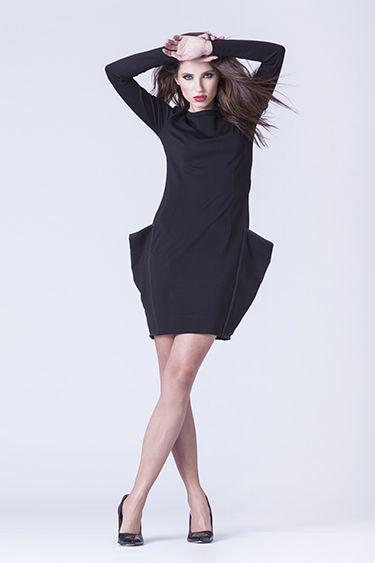 Sukienka Slim Black w Fashion Faktory na DaWanda.com