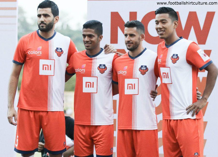 55c37a8eb FCGoa  ForcaGoa  nowWeRise FC Goa 2018-19 Home kit ...
