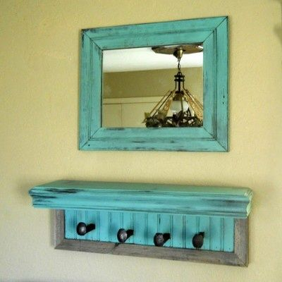 Entryway Mirror, shelf, and coat rack | college apartment ...