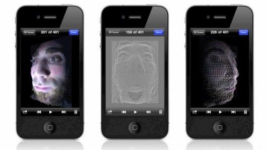 Trimensional app turns the iPhone into a 3D scanner Scanner