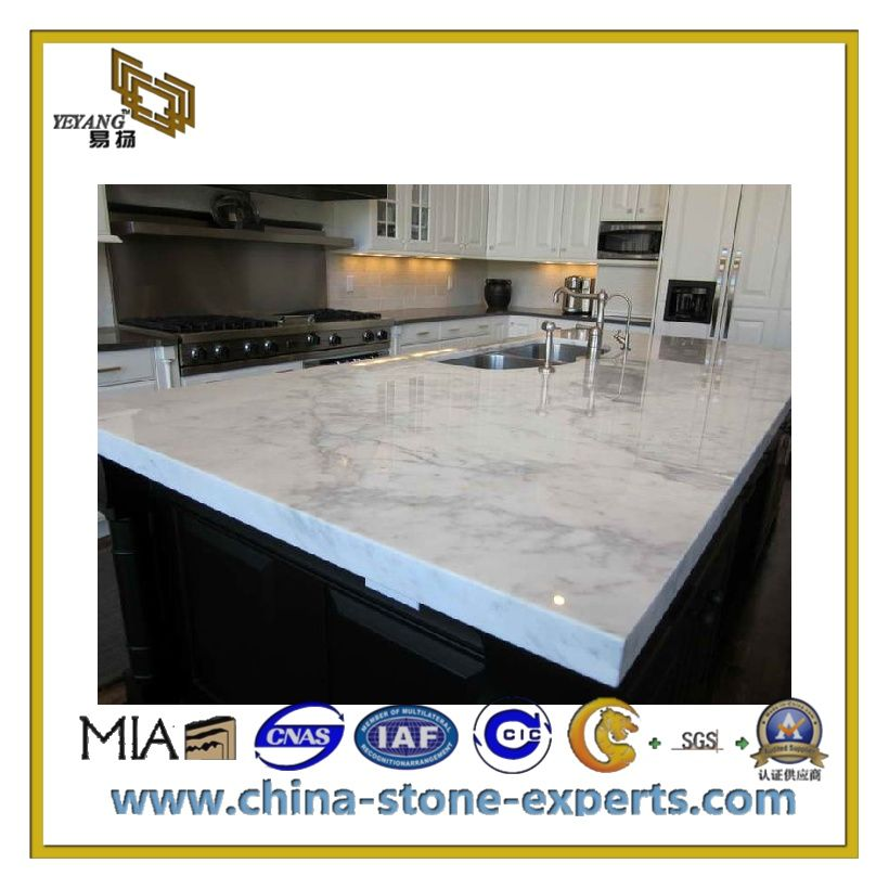 Popular Jade White Marble For Countertop Kitchen Vanity Top Yqc Mc1009 Buy Marble White Marble Countertops Marble Countertops Kitchen Marble Countertops