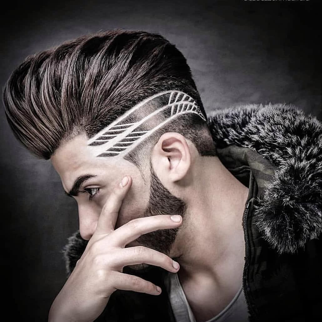 Best Hair World On Instagram Eebarbers Hair Hairstyle Barber Barberlife Barberlove Haircut Hairc Hair Tattoo Men Haircut Designs Hair Tattoo Designs