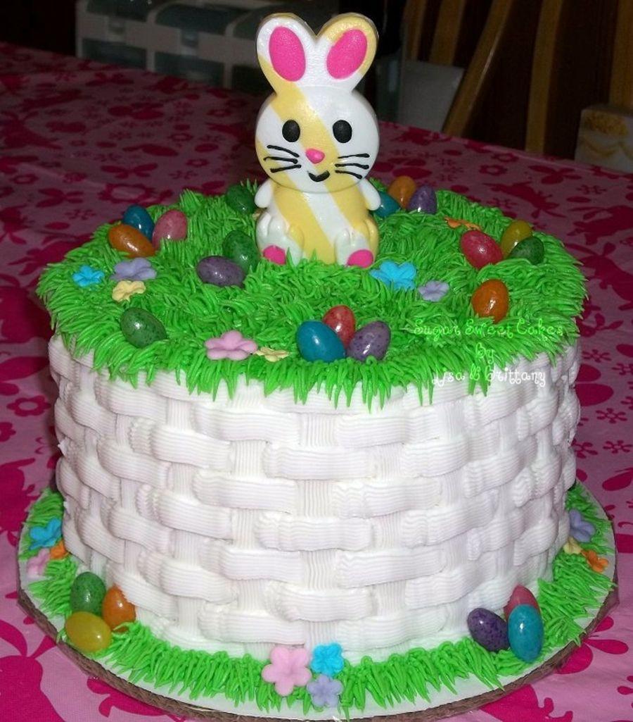 easter basket cake images