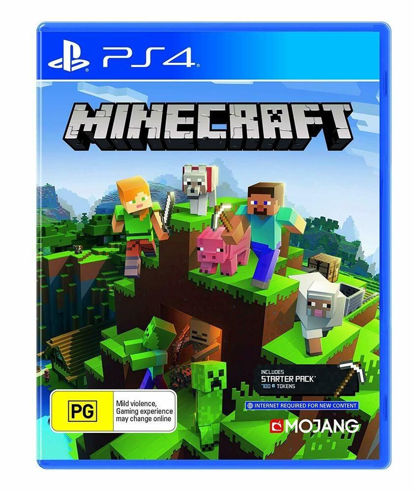 Minecraft Bedrock Edition Crafting Sony PS11 Adventure Creative