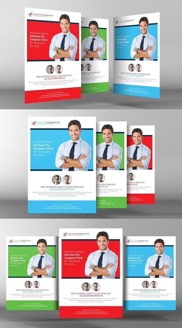 Corporate Business Flyer Template Business Flyer Templates