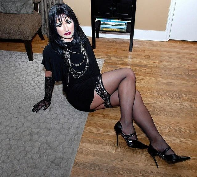 Consider, what Sexy goth mature apologise, but