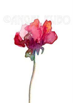 watercolour floral | | Alissa Evans | Watercolor | Pinterest ...