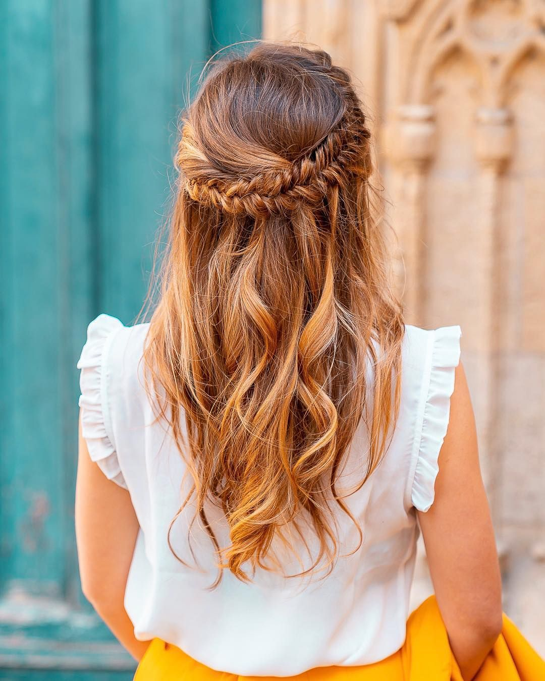 Ma Jolie Coiffure Pour Accompagner Une Tenue De Mariage Chloe Happy Blogger Lrds Chloe Penderie Hairstyles Hairstylesforwomen Weddinghairstyles We