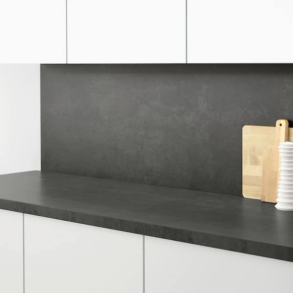 Sibbarp Panel Scienny Na Wymiar Imitacja Betonu Laminat Zamow Juz Dzis Ikea Ikea Kitchen Wall Panels Ikea Kitchen