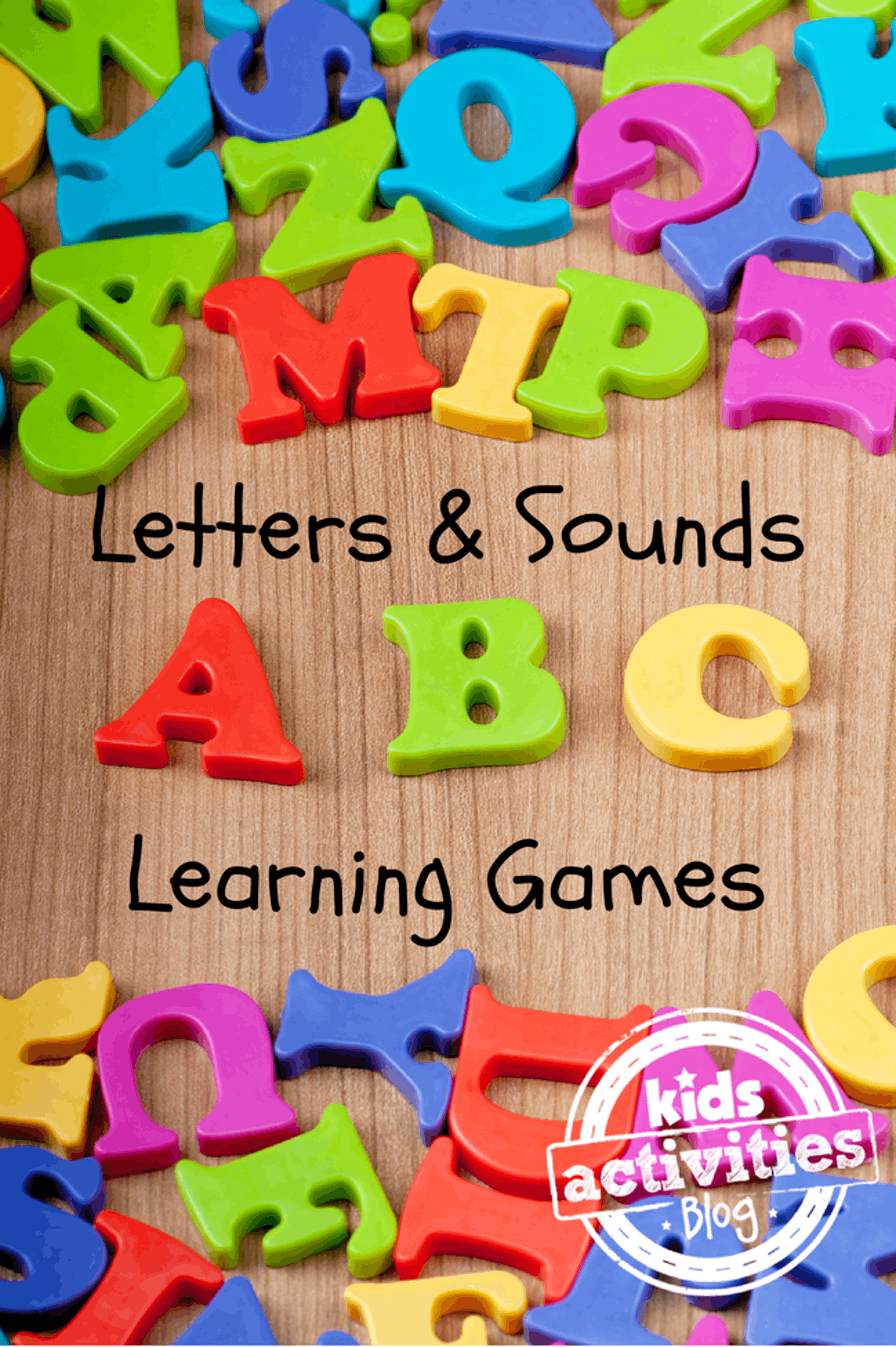 35 Letters and Sounds Learning Games Kids Activities