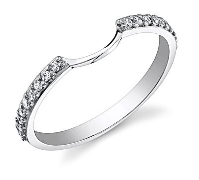 this is probably what i will have to do for my wedding band for my halo - Wedding Band For Halo Ring