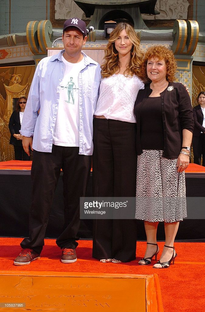 Adam Sandler, Wife Jackie and Mom Judy during Adam Sandler
