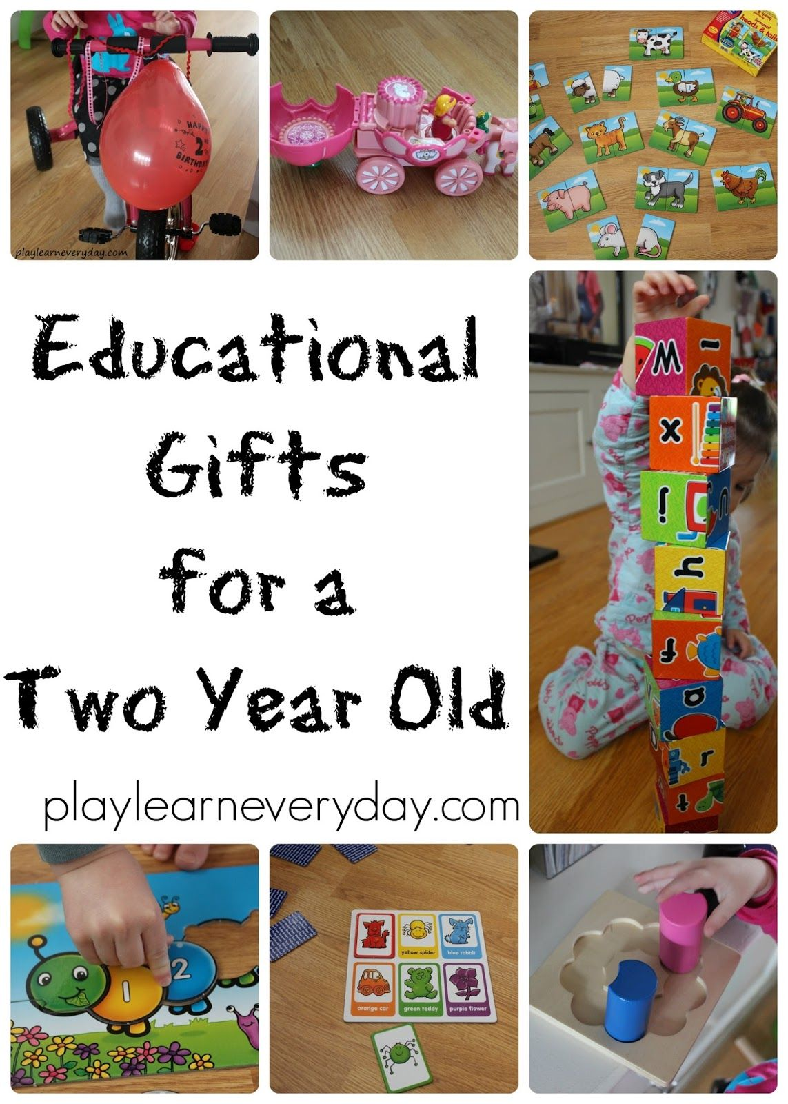Educational Gifts For A Two Year Old Christmas Gifts For