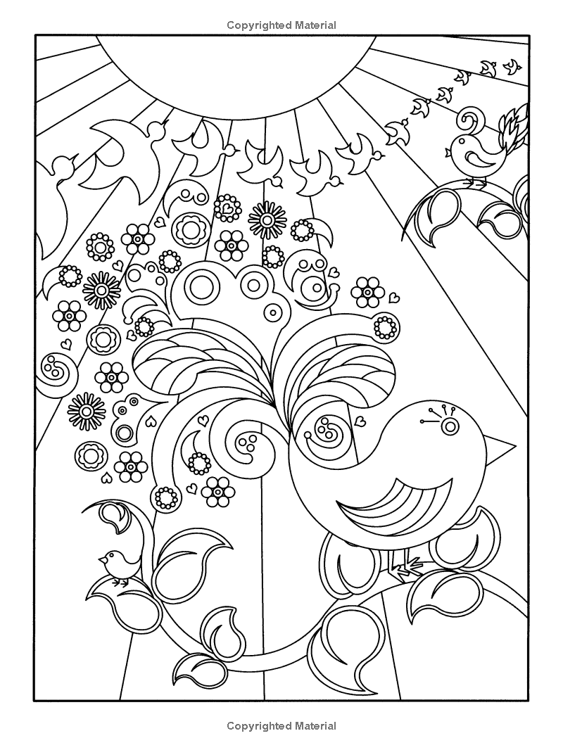 Amazon.com: Garden Party!: Flower Designs to Color (Dover Nature ...