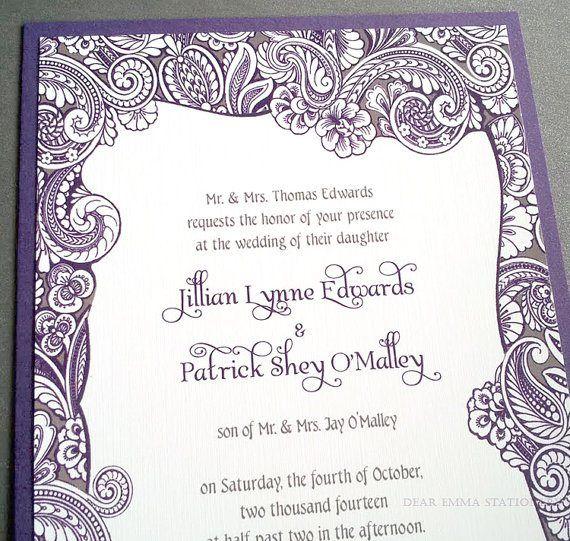 Invitation Y Pinterest Grey weddings Fairytale