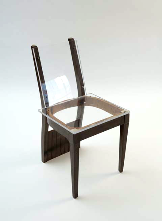 Objects William S Stone Unusual Furniture Thinking Chair Chair