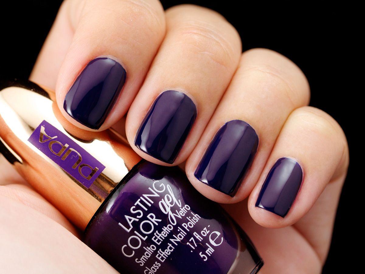 parisexperience #lastingcolorgel #nails #nailpolish 088 Deep Purple ...