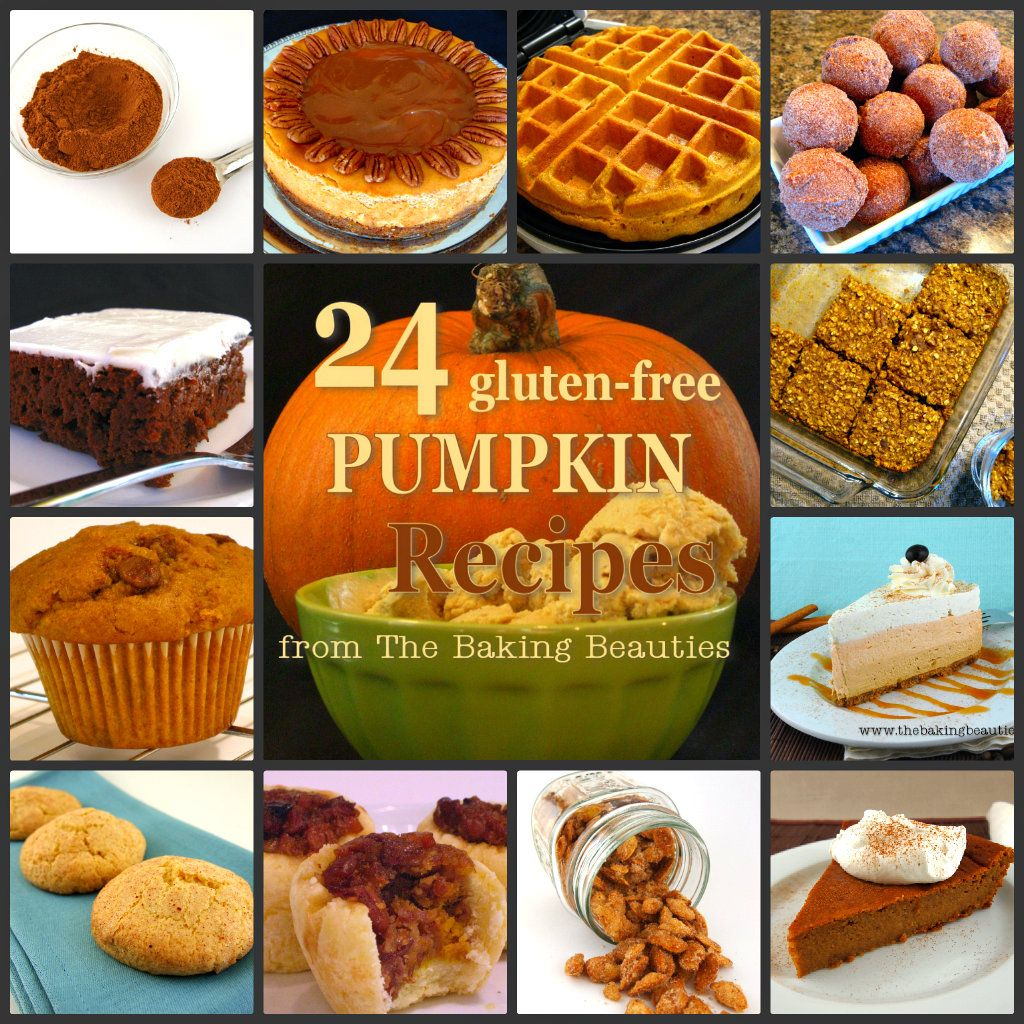 24 Gluten Free Pumpkin Recipes From The Baking Beauties Pumpkin