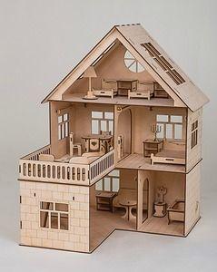 Деревянные кукольные дома своими руками