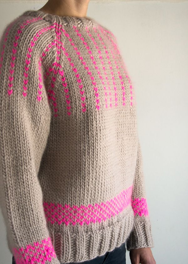 Laura\'s Loop: The Purl Soho Friendly Fair Isle Sweater - The Purl ...