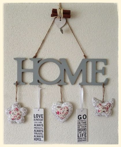 Leuke muurdecoratie met spulletjes van de action action for Decoratie spullen