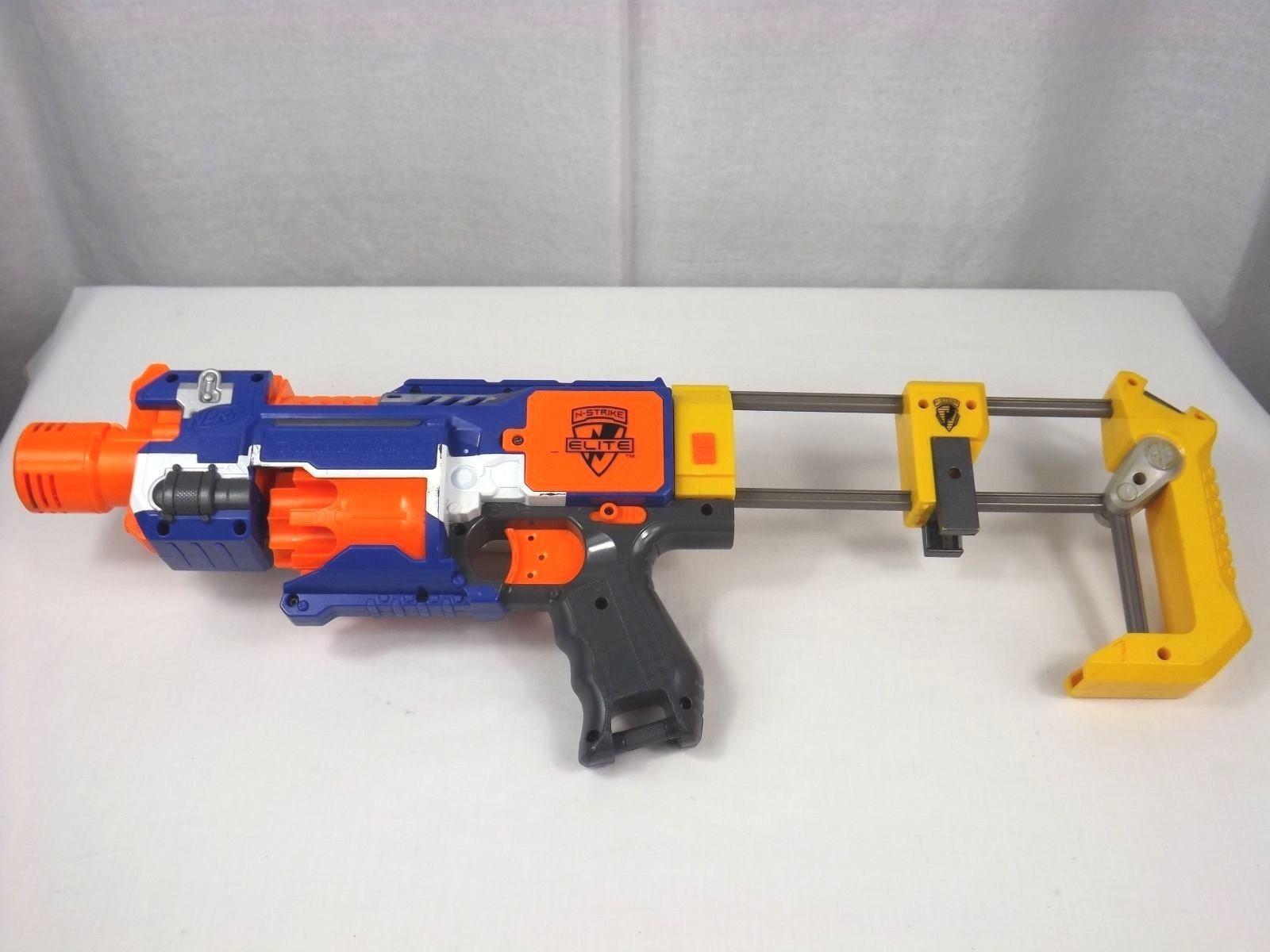 Nerf N Strike Elite Stockade Battery Operated Gun And Stock