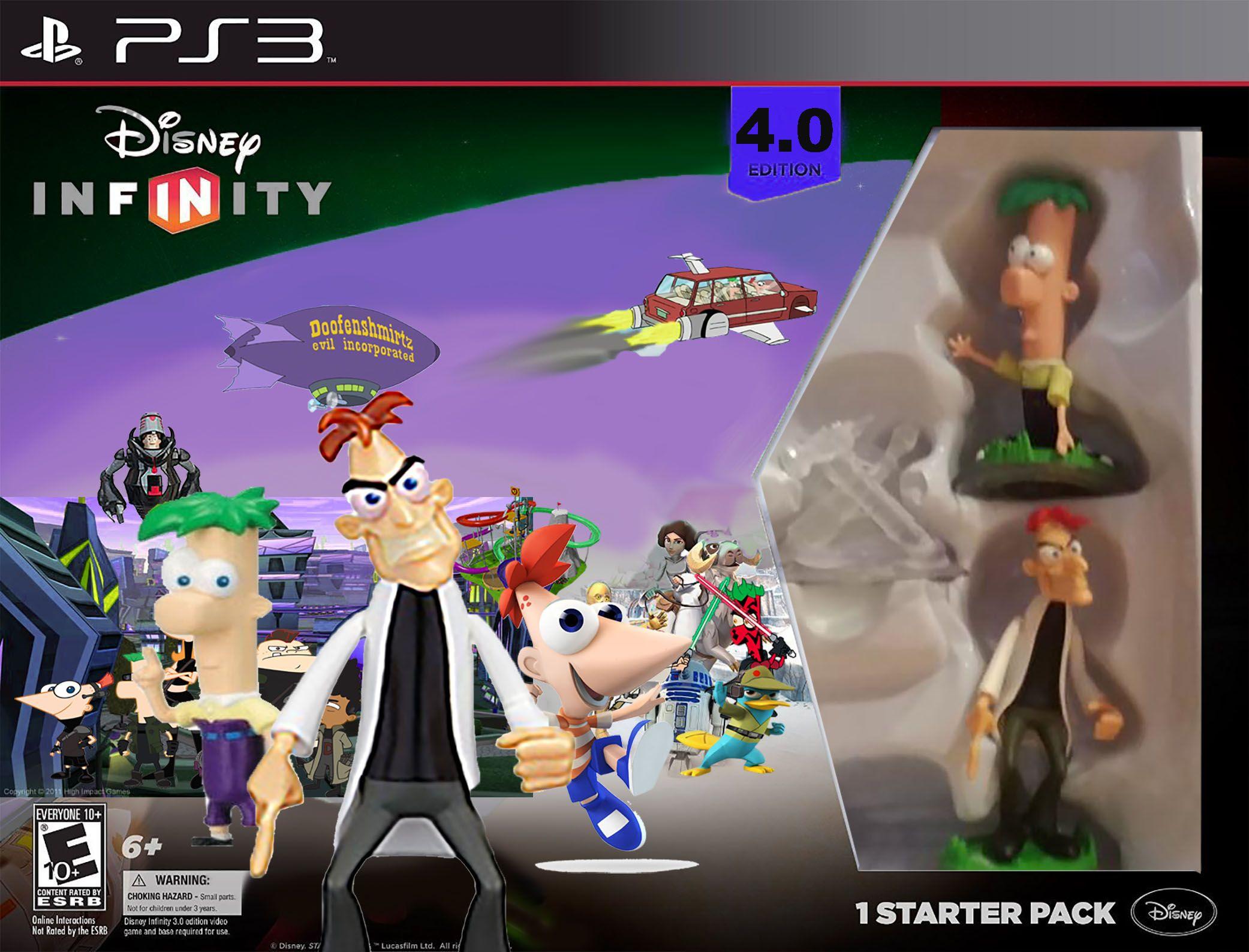 P F Playset Toybox Trainer Set Disney Infinity Playset Disney