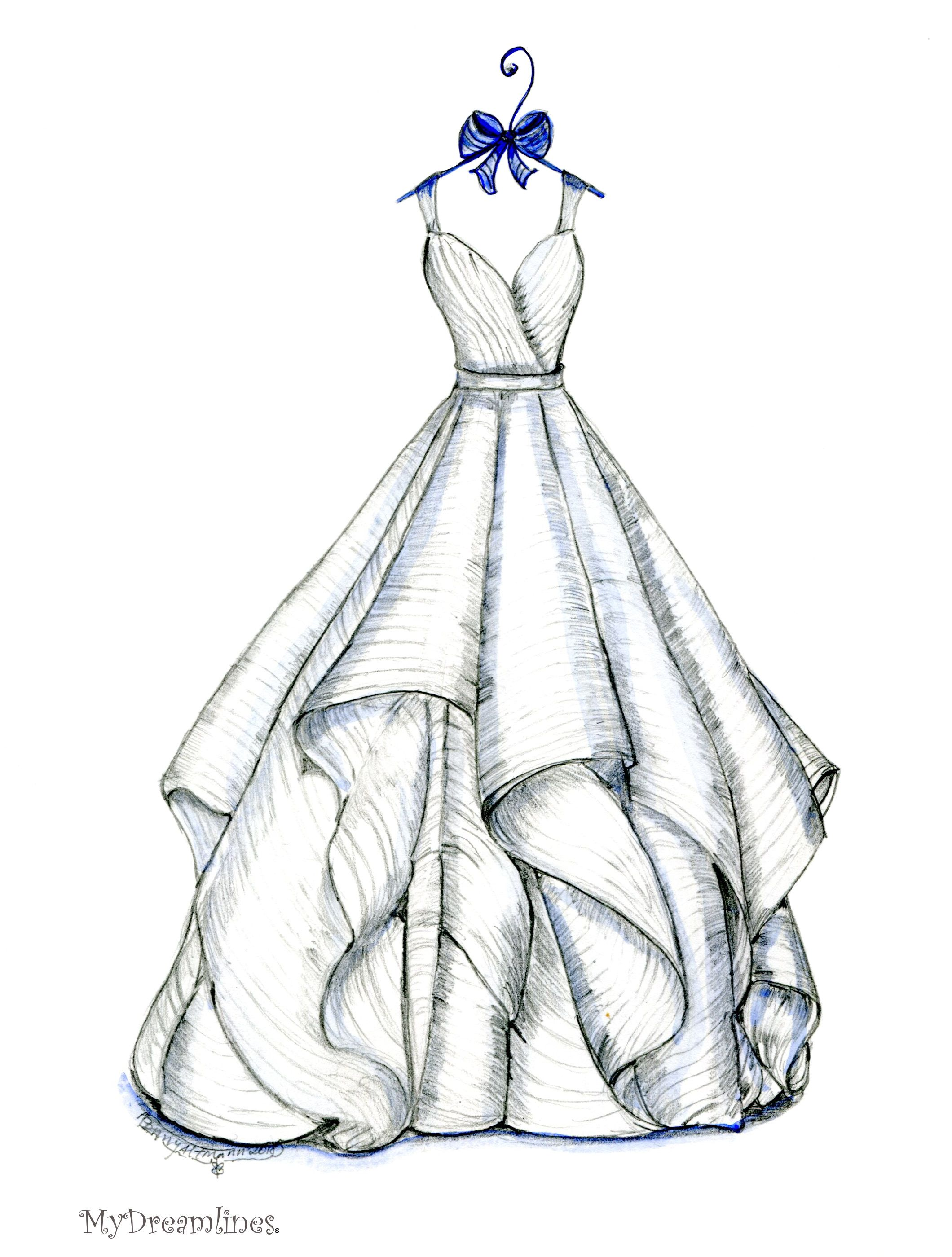 Best Gift For Wife In 2020 Unique Thoughtful Romantic Wedding Dress Drawings Wedding Dress Sketches Dress Sketches