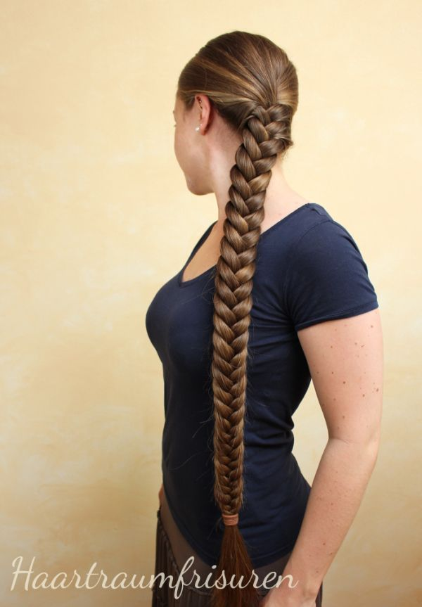 Hybrid braid   braids   Pinterest   Hair style  Hair goals and Super     Hybrid braid