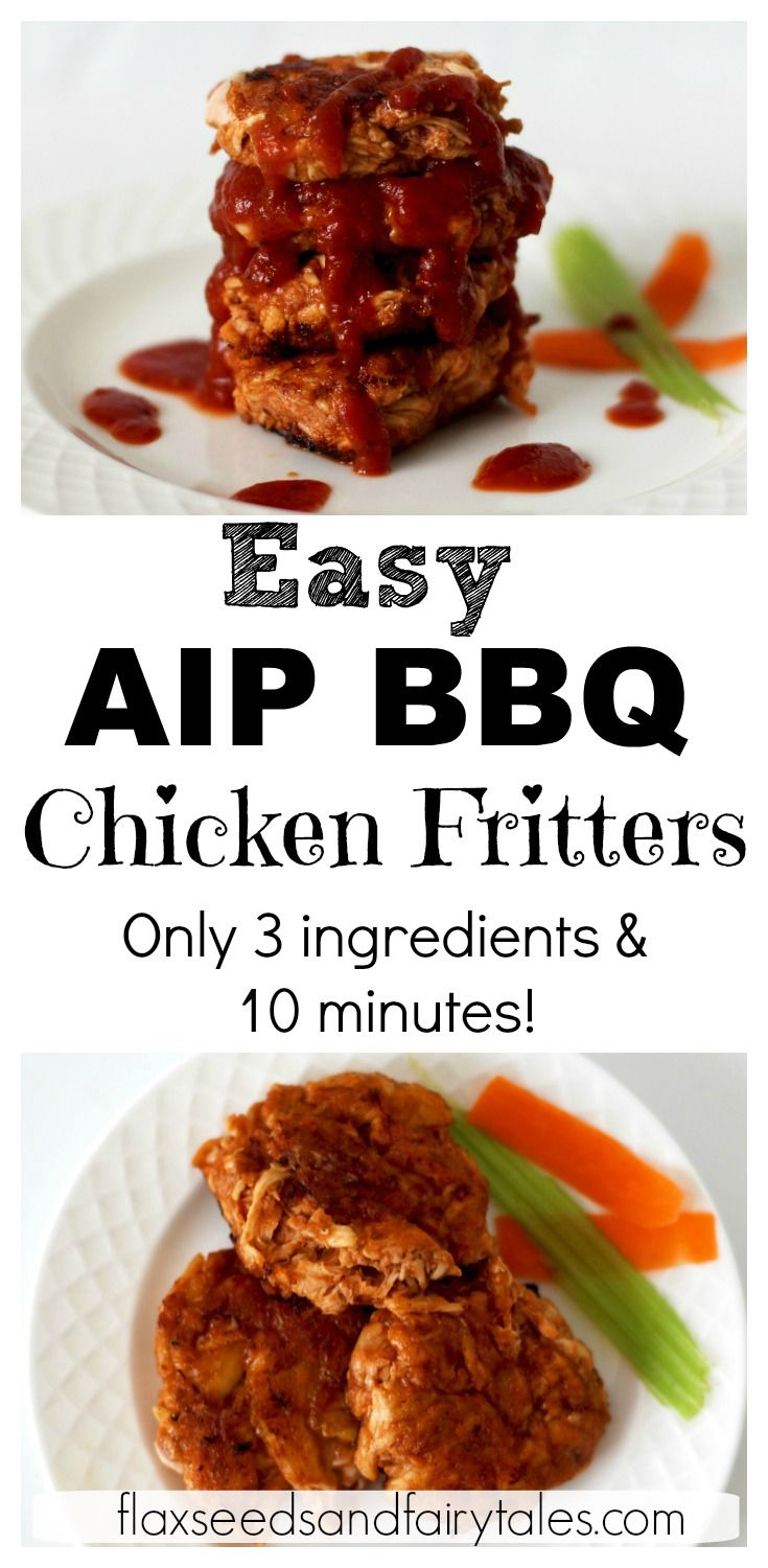 Aip bbq chicken fritters paleo whole30 recipe