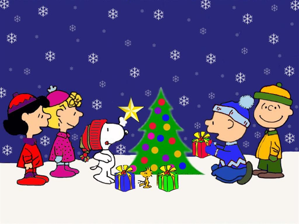 christmas backgrounds | Charlie Brown Christmas Background | Full ...