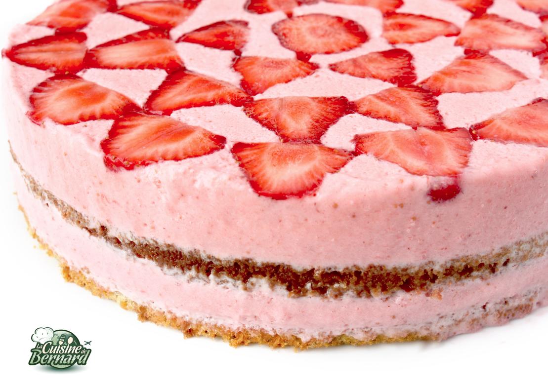 la cuisine de bernard: le gâteau aérien aux fraises | dessert