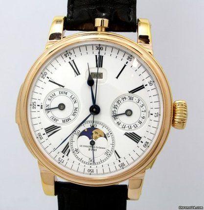Jaeger-LeCoultre Minutenrepetition mit Kalenderchronograph in 18 Kt.Rotgold Stuttgart, Germany - JamesEdition.com