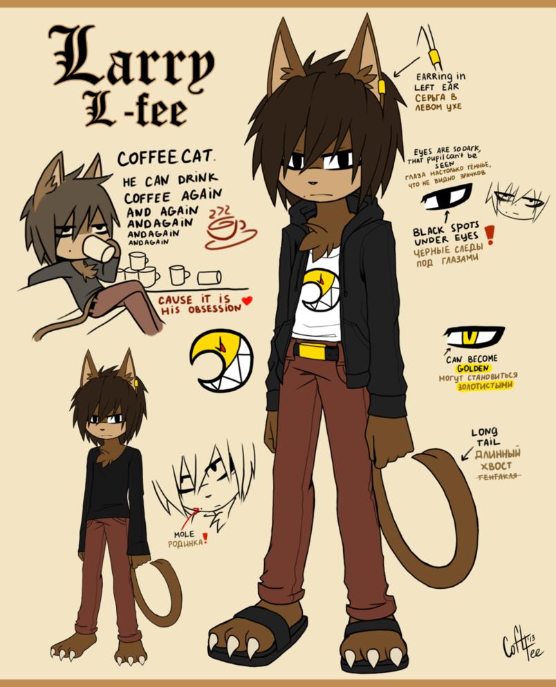 Ref Larry Lfee the cat by CofLfee on deviantART Fee