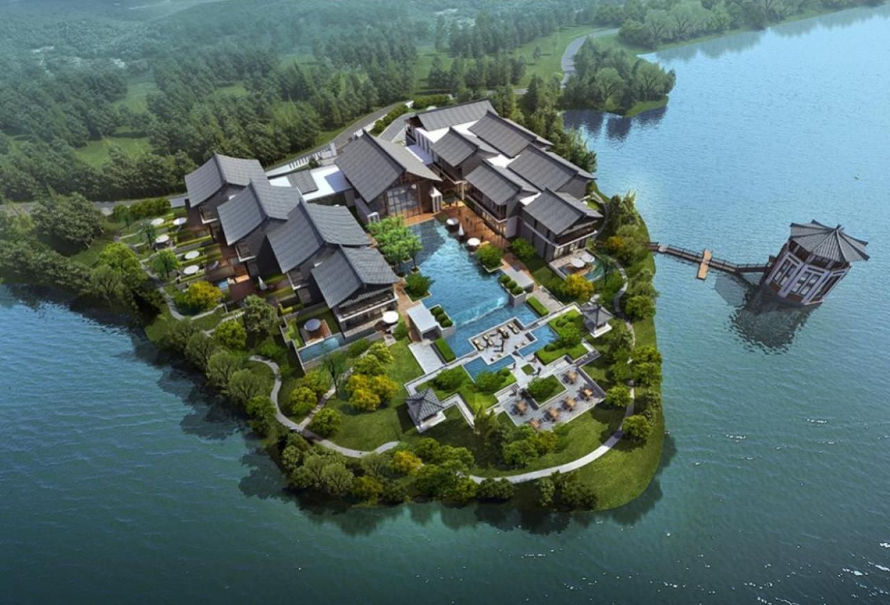 Tianmu Lake Ahn Luh Boutique Resort Archilier Architecture I The