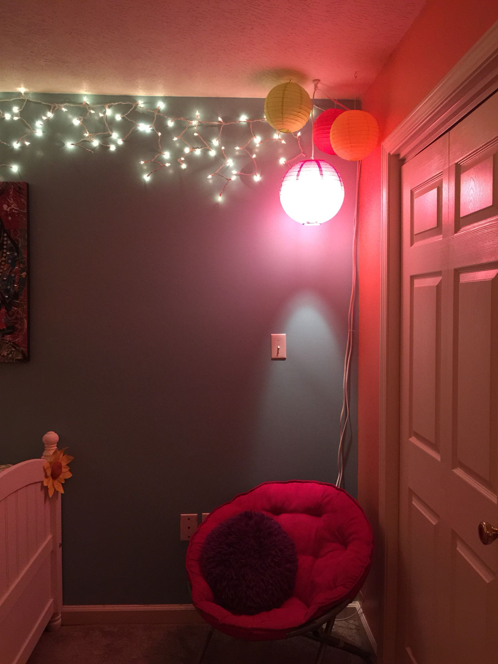 Room Decor For Teen Girls Lights