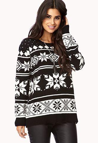 Fireside Fair Isle Sweater | FOREVER 21 - 2079606806 ...