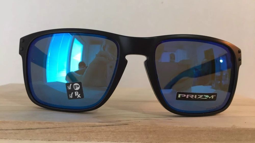 5962b37a030 NEW Oakley - Holbrook - Prizm Sapphire Polarized - Sapphire Fade - OO9102- D255  fashion  clothing  shoes  accessories  mensaccessories ...
