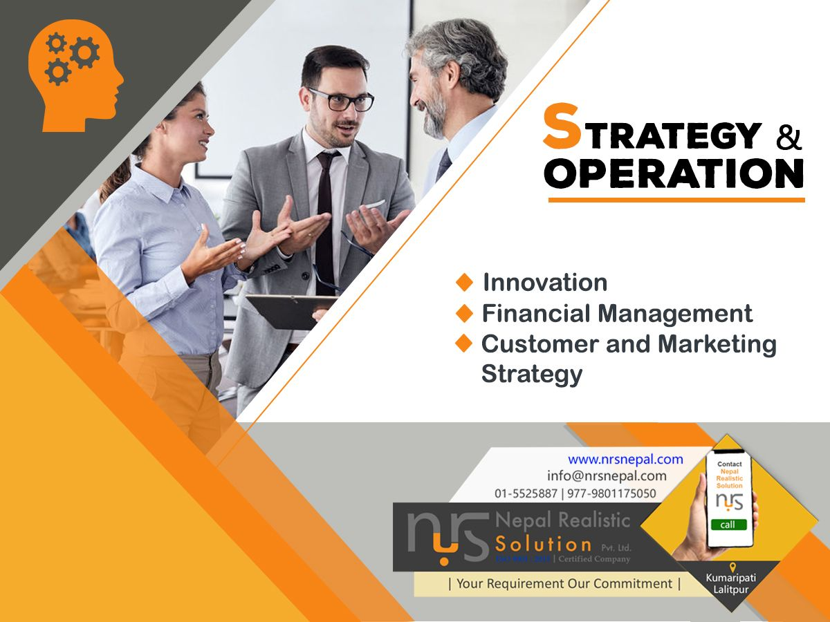 Strategy And Operation Business Consultant Services Technology Consulting Small Business Plan Template