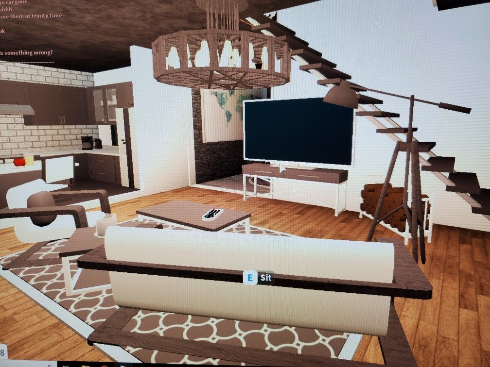 Bloxburg Living Room Aesthetic In 2020 Two Story House Design House Rooms House Layouts