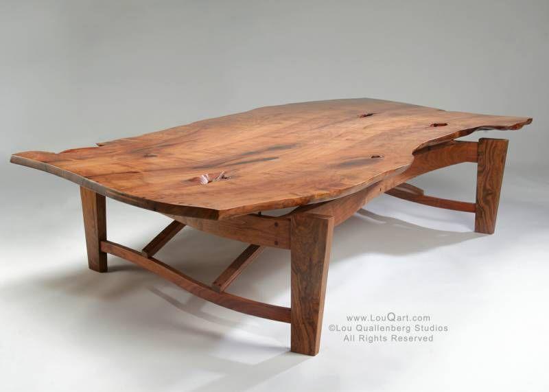 Mesquite Coffee Table By Lou Quallenberg Studios Live Edge